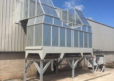 Biomass-dryer-ductwork-heat-exchanger